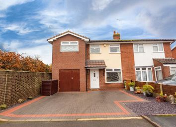 Thumbnail 4 bed semi-detached house for sale in 34 Wessex Close, Shavington, Crewe