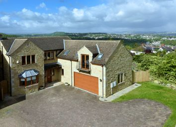 Thumbnail 5 bedroom detached house for sale in Greaves House Lane, Lepton, Huddersfield