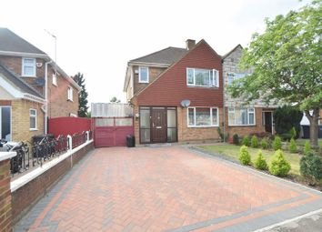 Thumbnail 3 bed semi-detached house for sale in Stephens Close, Luton
