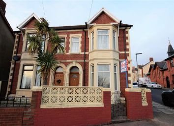 Thumbnail 4 bed semi-detached house for sale in Dock View Road, Barry