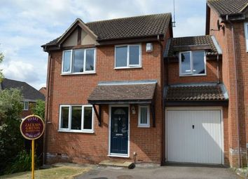 Thumbnail 4 bed link-detached house to rent in Bluebell Court, Abington Vale, Northampton