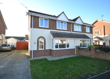 Thumbnail 3 bed semi-detached house for sale in Ffordd Y Berllan, Towyn
