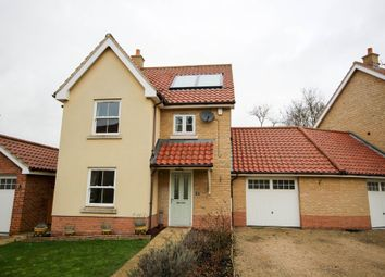 Thumbnail 3 bed detached house for sale in Bradfield Drive, Martham, Great Yarmouth