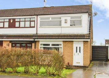 Thumbnail 3 bed semi-detached house for sale in Radnor Drive, Leigh