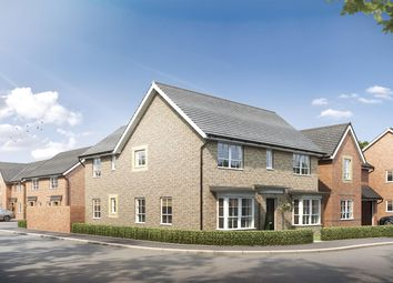 "Thumbnail 4 bed detached house for sale in ""Radleigh"" at Stretton Road, Stretton, Warrington"