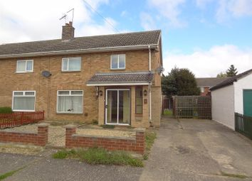 Thumbnail 3 bedroom semi-detached house for sale in Sandygate Close, Horbling, Sleaford