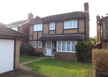 Thumbnail 4 bed detached house for sale in Hill Farm Road, Southampton