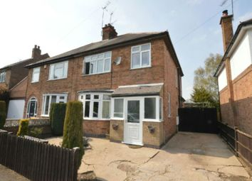 Thumbnail 3 bed semi-detached house for sale in East Avenue, Whetstone, Leicester