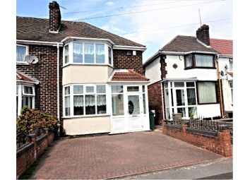 Thumbnail 3 bed semi-detached house for sale in Blakeley Hall Road, Oldbury