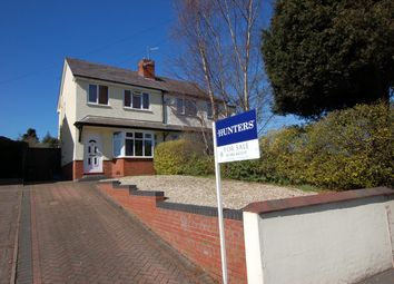Thumbnail 2 bed semi-detached house for sale in High Street, Wollaston