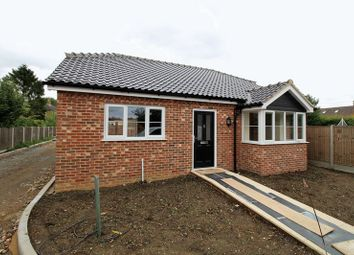 Thumbnail 3 bed detached bungalow for sale in Yaxham Road, Dereham, Norfolk