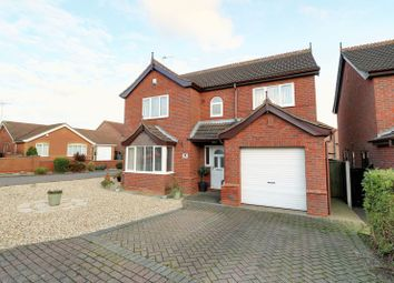 Thumbnail 4 bed detached house for sale in Goddard Close, Barton-Upon-Humber