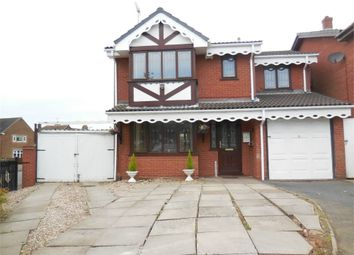 Thumbnail 4 bedroom detached house to rent in Shire Ridge, Walsall Wood, Walsall