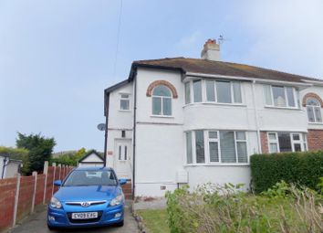 Thumbnail 3 bed semi-detached house for sale in Maesgwyn Road, Penrhyn Bay, Llandudno