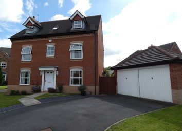 Thumbnail 5 bed detached house for sale in Chesterton Drive, Winwick, Warrington