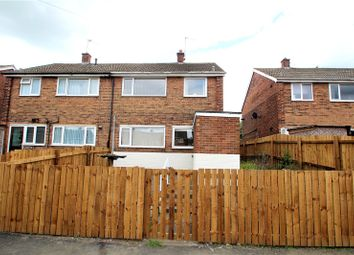Thumbnail 2 bed semi-detached house for sale in Cedar Walk, Knottingley, West Yorkshire