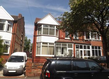 Thumbnail 4 bedroom semi-detached house for sale in Northmoor Road, Manchester, Greater Manchester