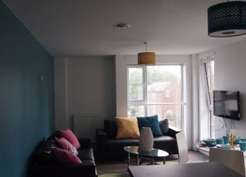 Thumbnail 4 bed flat to rent in Vaughan Way, Leicester