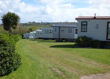 Thumbnail 2 bed mobile/park home for sale in Manor Caravan Park, Abersoch, Gwynedd