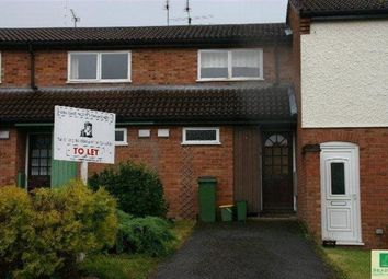 Thumbnail 1 bed terraced house to rent in Shenton Close, Whetstone, Leicester