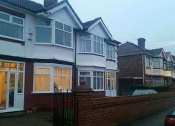 Thumbnail 4 bed semi-detached house to rent in Manley Road, Chorlton