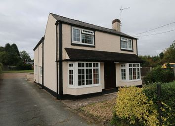 Thumbnail 4 bed detached house for sale in Ellesmere Road, St. Martins, Oswestry, Shropshire