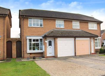 Thumbnail 3 bed semi-detached house for sale in Eagles Chase, Wick, Littlehampton