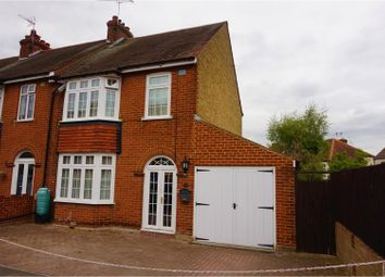 Thumbnail 3 bed end terrace house for sale in Chada Avenue, Gillingham