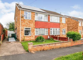 Thumbnail 3 bed semi-detached house for sale in Caistor Avenue, Bottesford, Scunthorpe