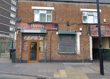 Thumbnail Retail premises for sale in 117 High St, Plaistow