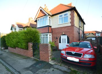 Thumbnail 6 bed detached house for sale in Peasholm Crescent, Scarborough
