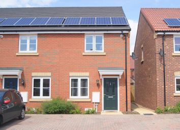 Thumbnail 2 bed terraced house for sale in Harrow Close, Collingham, Newark