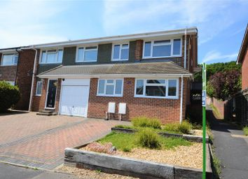 Thumbnail 4 bed semi-detached house for sale in James Copse Road, Waterlooville
