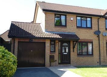 Thumbnail 3 bed semi-detached house for sale in Hopewell Close, Thornwell, Chepstow, Monmouthshire