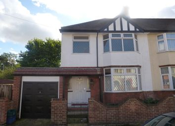 Thumbnail 3 bed property to rent in Penrhyn Road, Northampton
