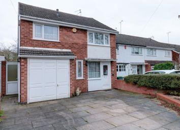 Thumbnail 3 bed detached house for sale in Claverdon Drive, Great Barr, Birmingham