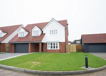 Thumbnail 4 bed detached house for sale in Wind Mill Close, Hawkinge