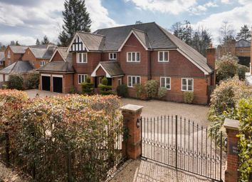 Thumbnail 6 bed detached house for sale in Charters Road, Sunningdale, Ascot