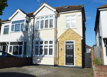 Thumbnail 4 bed semi-detached house for sale in Clive Road, Heath Park, Romford