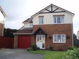 Thumbnail 4 bed detached house to rent in Waunbant Court, Clwydyfagwr