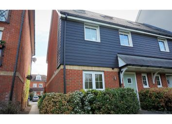 Thumbnail 3 bed end terrace house for sale in Farleigh Hill, Maidstone