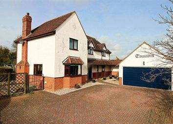 Thumbnail 4 bed detached house for sale in Marks Hall Lane, White Roding, Dunmow, Essex