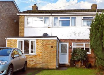 Thumbnail 3 bed semi-detached house to rent in Abbey Road, Witney, Oxfordshire