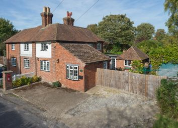 Thumbnail 3 bed semi-detached house for sale in Westwell Lane, Westwell, Ashford