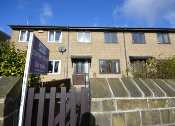 Thumbnail 3 bed terraced house for sale in Moorbottom, Honley, Holmfirth, West Yorkshire