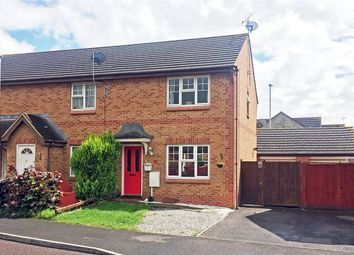 Thumbnail 3 bed end terrace house for sale in Kestrel Gardens, Green Farm, Quedgeley, Gloucester