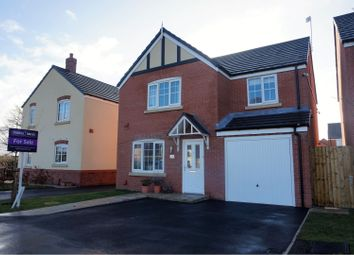 Thumbnail 4 bed detached house for sale in Argent Close, Crewe
