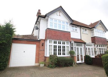 Thumbnail 4 bed semi-detached house for sale in Crofton Lane, Orpington