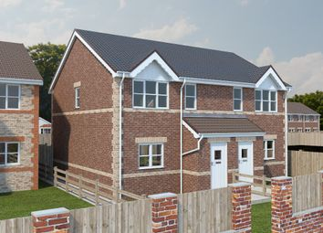 Thumbnail 3 bed semi-detached house for sale in Plot 25, The Croft, North Wignfield