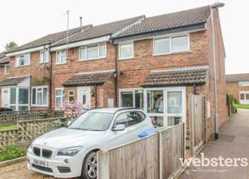 Thumbnail 3 bedroom end terrace house for sale in Holworthy Road, Norwich